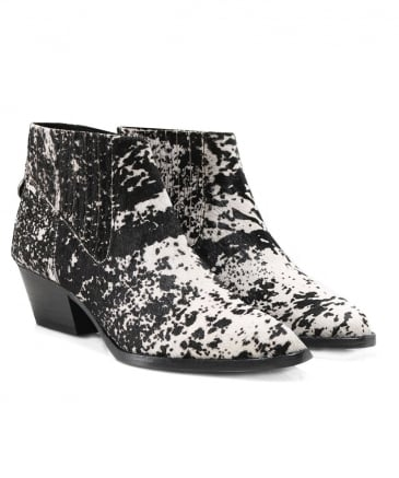 Pony Hair Ernest Ankle Boots