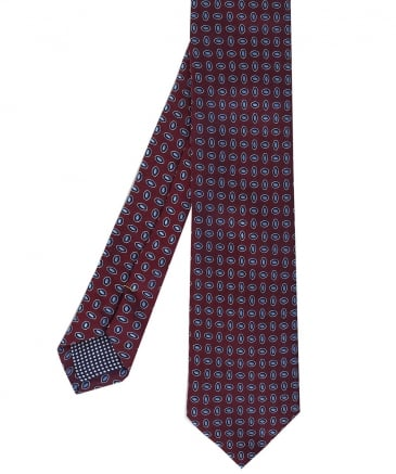 Patterned Silk Tie