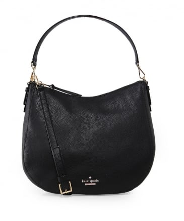 Pebbled Leather Mylie Hobo Bag