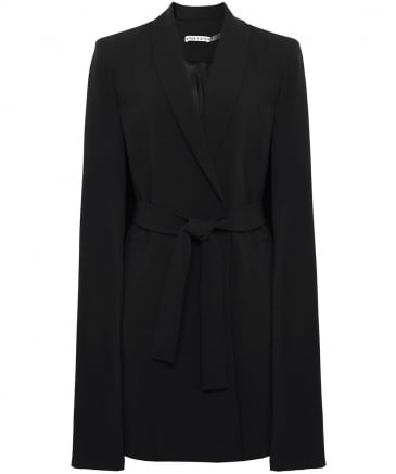 McGuire Long Belted Cape Coat