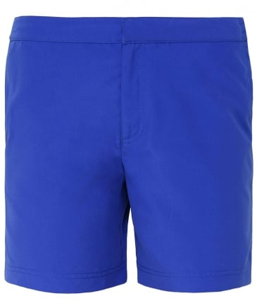 Tailored Fit Mid Length Bond Swim Shorts