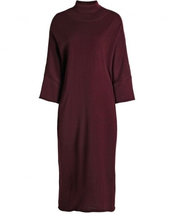 Wool Roll Neck Dress