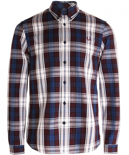 Fred Perry chemise carreaux tartan