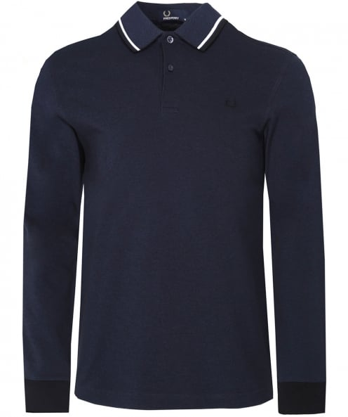Fred Perry doubles manches longues tipped polo shirt
