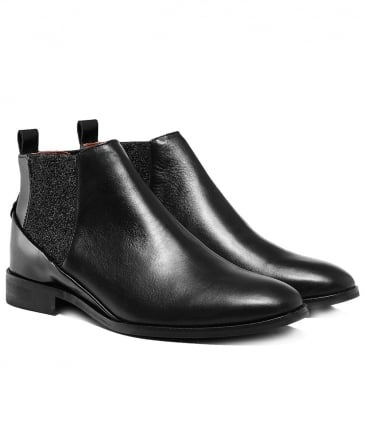 Leather Norman Low Chelsea Boots