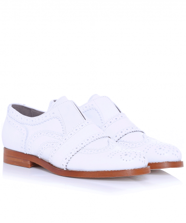 Maddie Leather Brogues