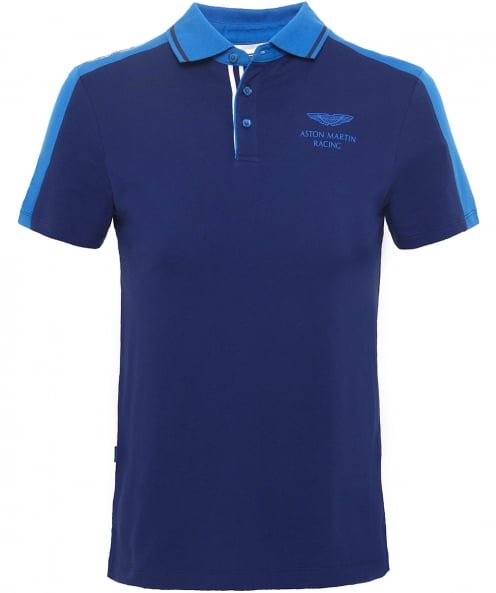Hackett Slim fit à caissons amr polo shirt
