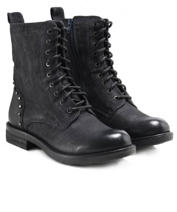 Studded Leather Jovian Boots