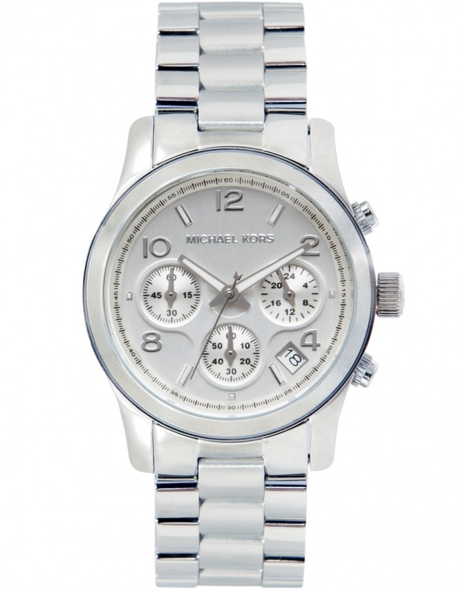 Michael kors watches taille moyenne chronographe montre for Taille moyenne maison
