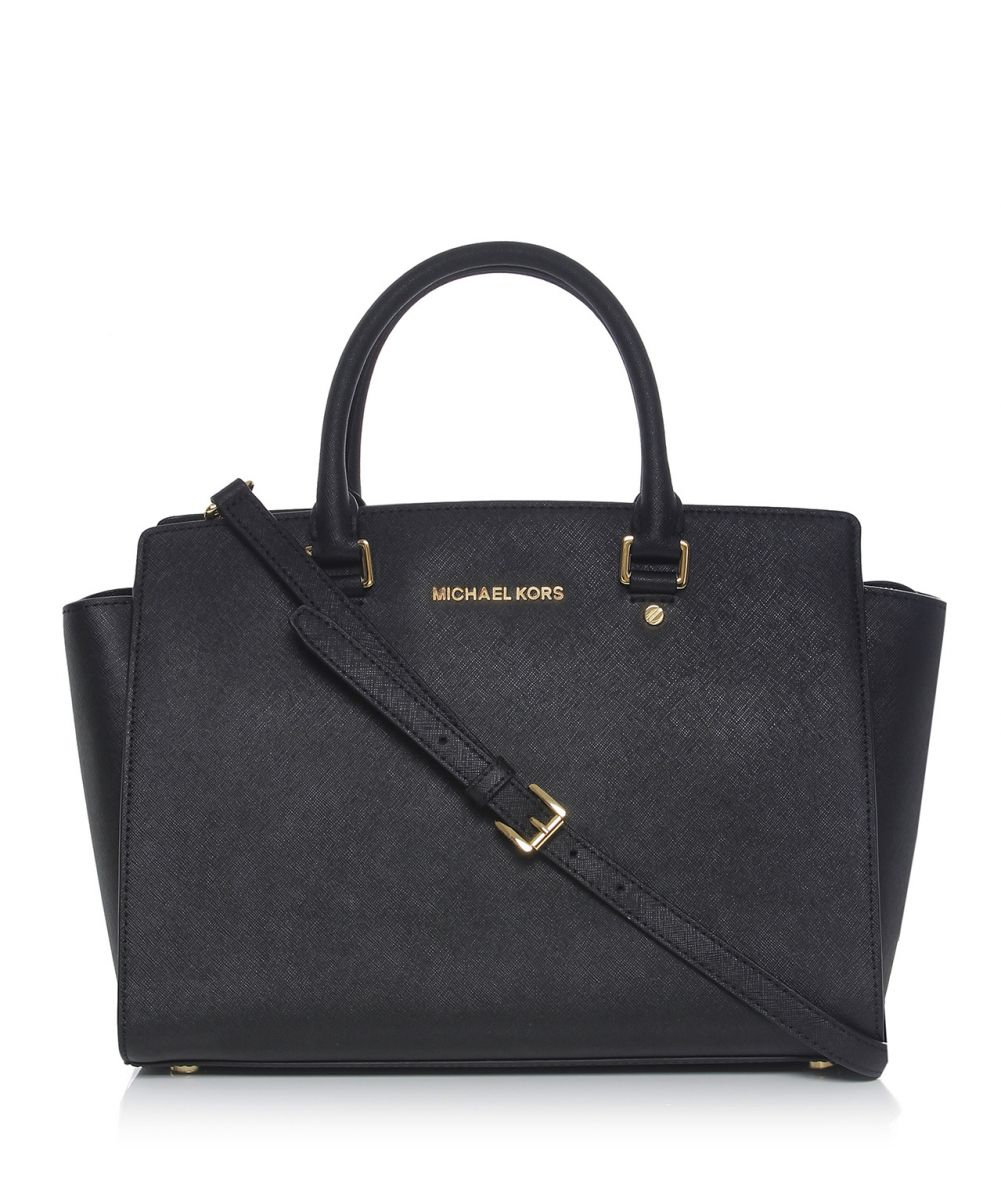 michael michael kors selma large satchel bag disponible jules b. Black Bedroom Furniture Sets. Home Design Ideas