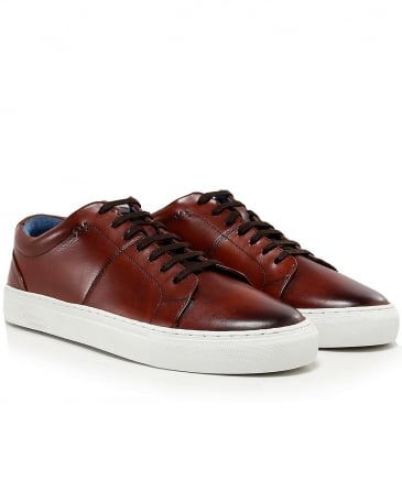 Leather Laine Trainers