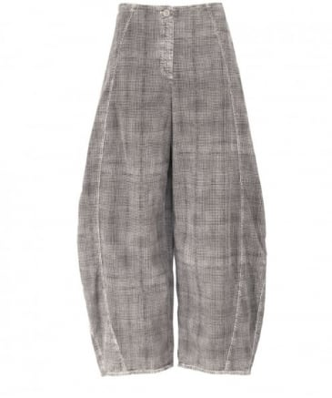 Check Corduroy Vavia Trousers