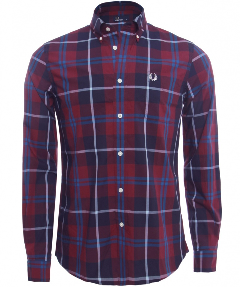 f8c5e35f7d3 Fred Perry grand Check Shirt disponible à Jules B