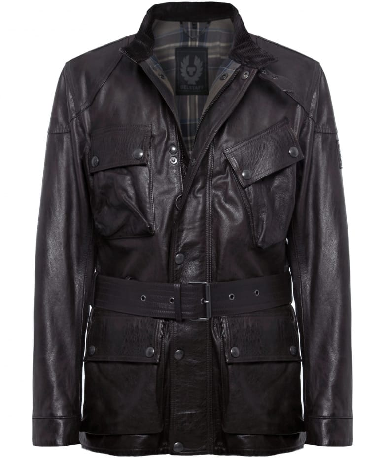Hand Waxed Leather Panther Jacket