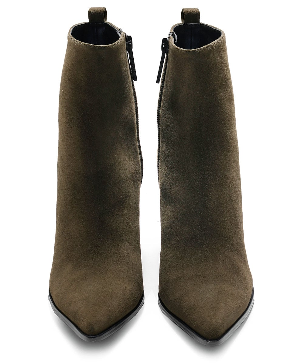 80f206fcded18d Kendall and Kylie Vert bottes talon Chunky Felix | Jules B