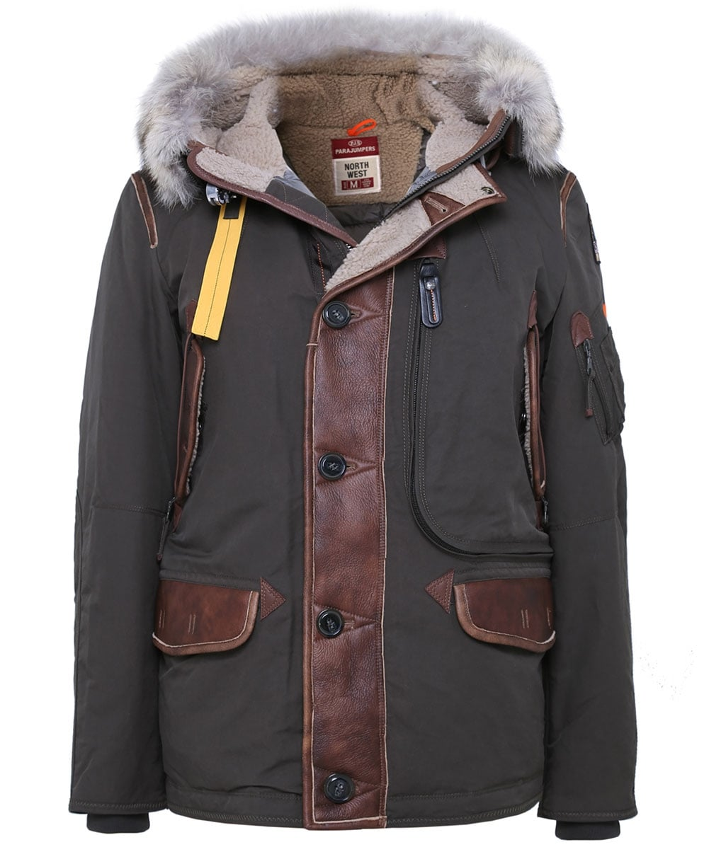 Hooded Forrest Parka