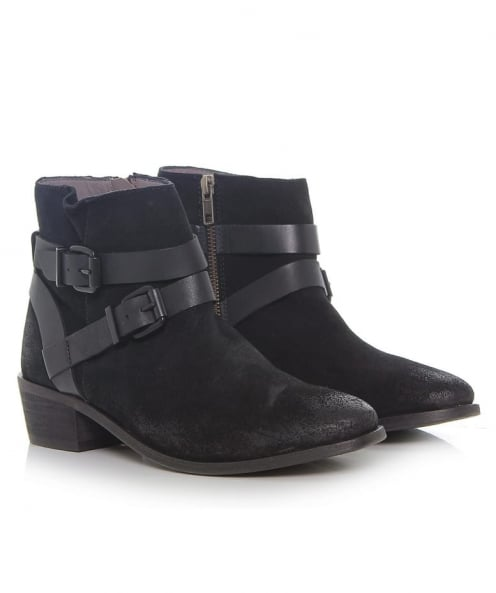 H by Hudson Les bottines daim Meeya