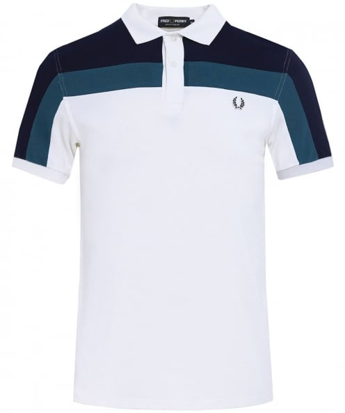 Fred Perry couleur bloc polo shirt