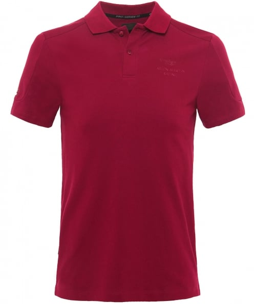 Hackett Slim fit à caissons coutures amr polo shirt