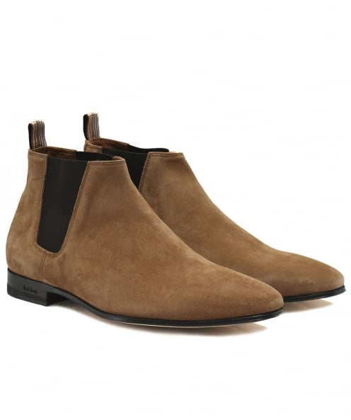 PS by Paul Smith bottes de daim marlow chelsea