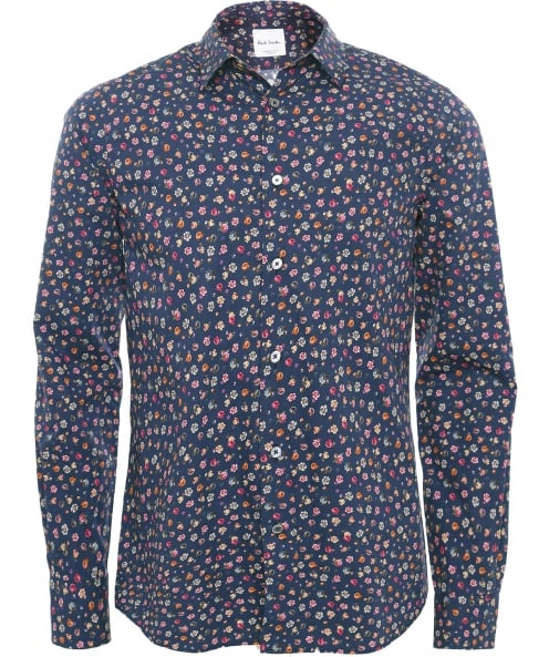 Paul Smith Slim fit chemise floral