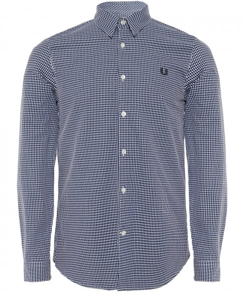 Fred Perry chemise motif tissé