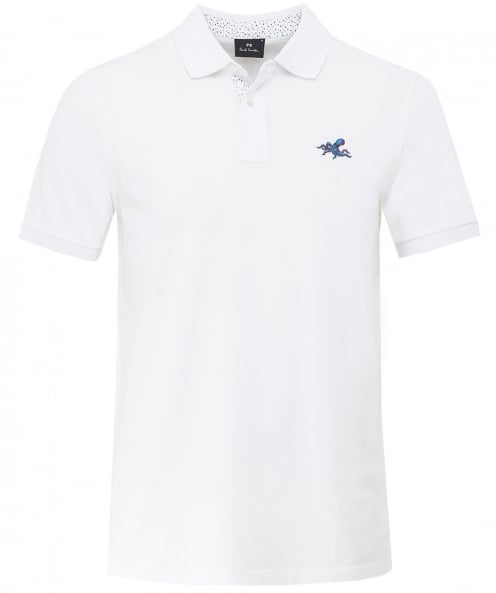 PS by Paul Smith Regular fit poulpe polo shirt
