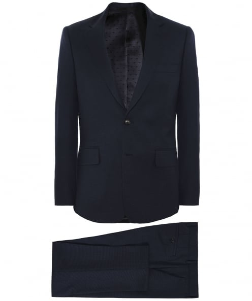 Paul Smith Tailored Fit Pin Dot Wool Suit