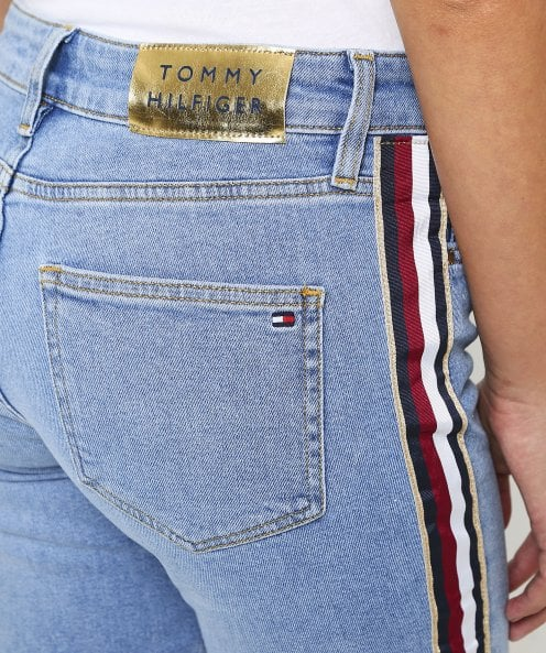 Tommy Hilfiger Blue Icons Gramercy High Waisted Jeans | Jules B