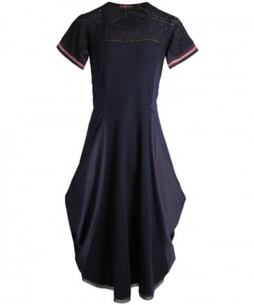 Mikado Waterfall Dress