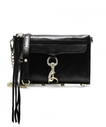 Leather Mini Mac Crossbody Bag