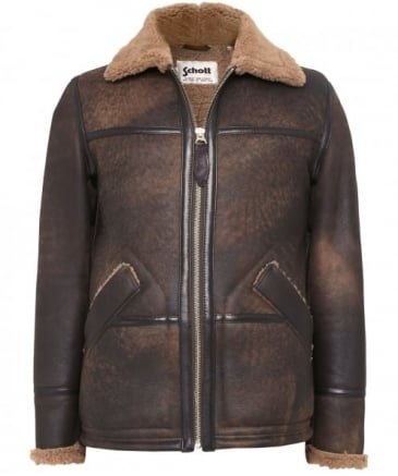 Sheepskin Leather Long Jacket