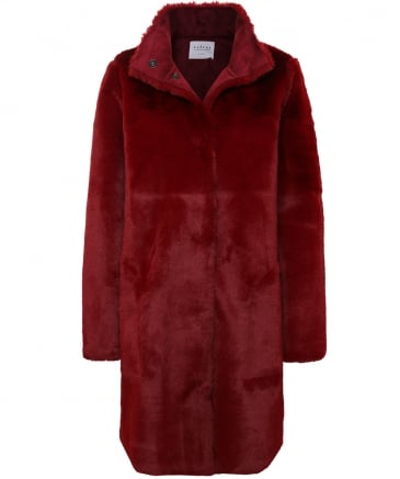 Reversible Faux Fur Mina Coat