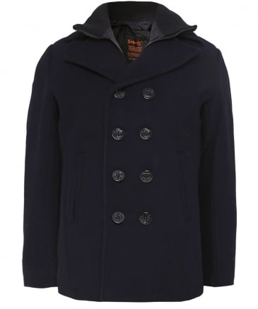 Wool Cyclone2 Pea Coat