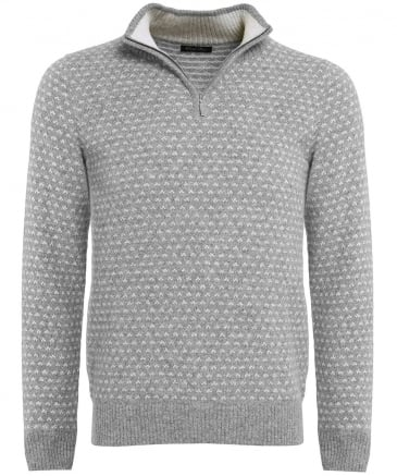 Alpaca Half-Zip Norwegian Jumper