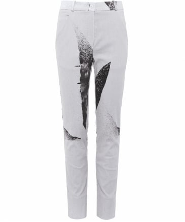 Clan Printed Linen Trousers