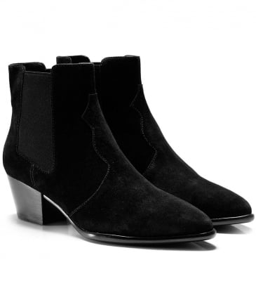 Suede Holly Ankle Boots