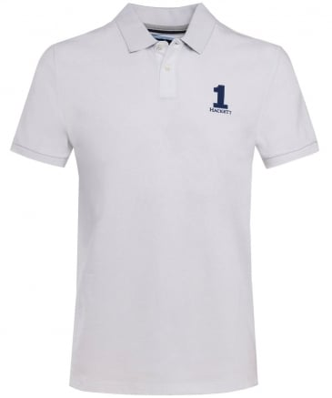 Classic Fit Numbered Polo Shirt