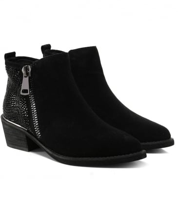 Crosta Embellished Ankle Boots