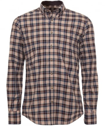 Slim Fit Plaid Woodlands Shirt