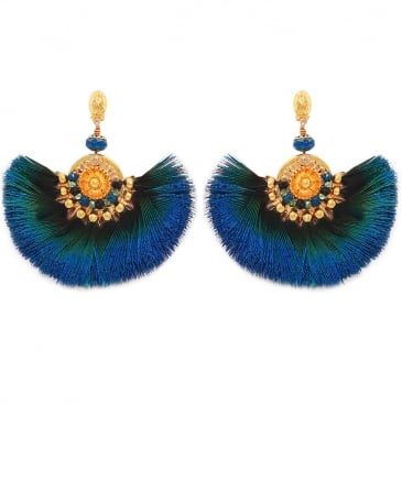 Gaia Feather Earrings