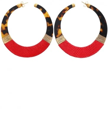 Lodge Hoop Earrings