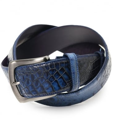 Mock Caiman Belt