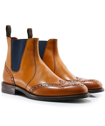 Leather Hoskins Chelsea Boots