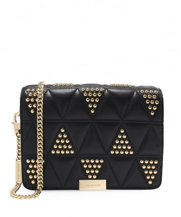 Studded Jade Clutch Bag