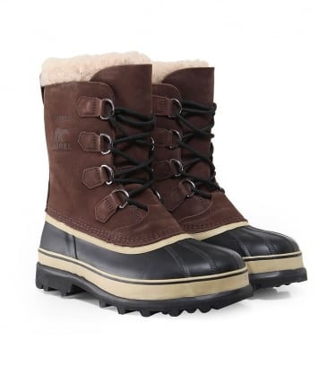 Nubuck Leather Caribou Boots