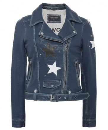 Leather Courtney Star Jacket