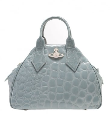Medium Yasmin Croc Print Bag