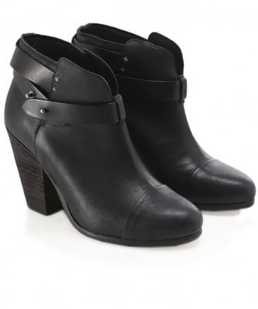 Leather Harrow Boots