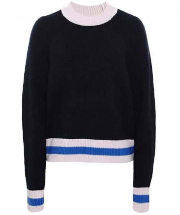 Merino Wool Hattie Crew Neck Jumper